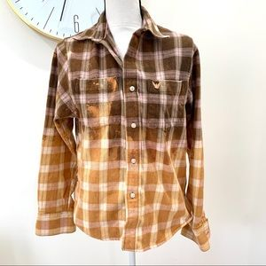 Bleach Dye Flannel